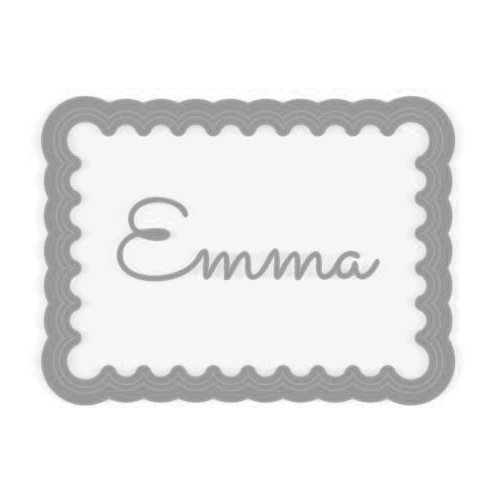 cookie cutter personnalisable