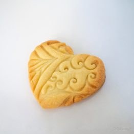 cookie cutter coeur arabesques
