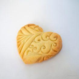 cookie cutter coeur arabesques