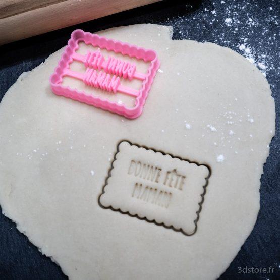 cookie cutter fête des mères