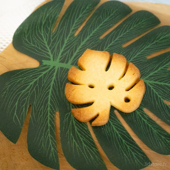 monstera cookie cutter