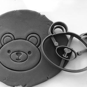 Emporte-pièce - Tête d'ours