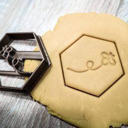 hexagone + petite abeille