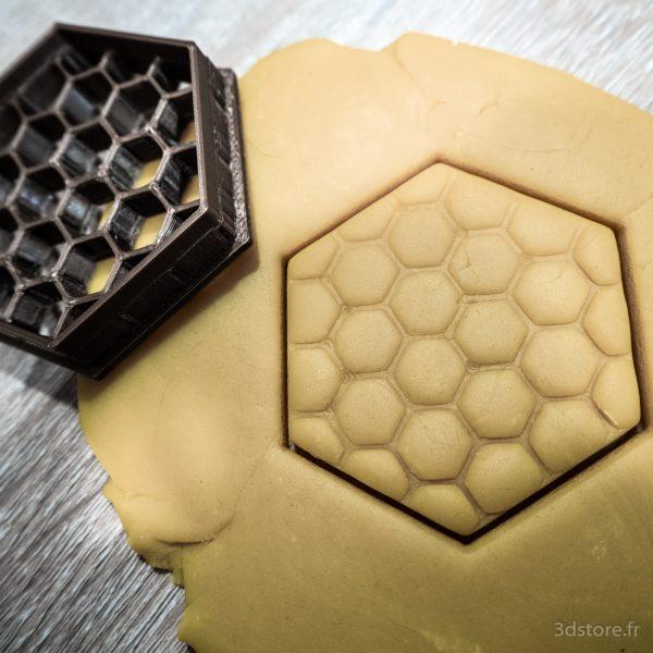 hexagone nid d'abeille